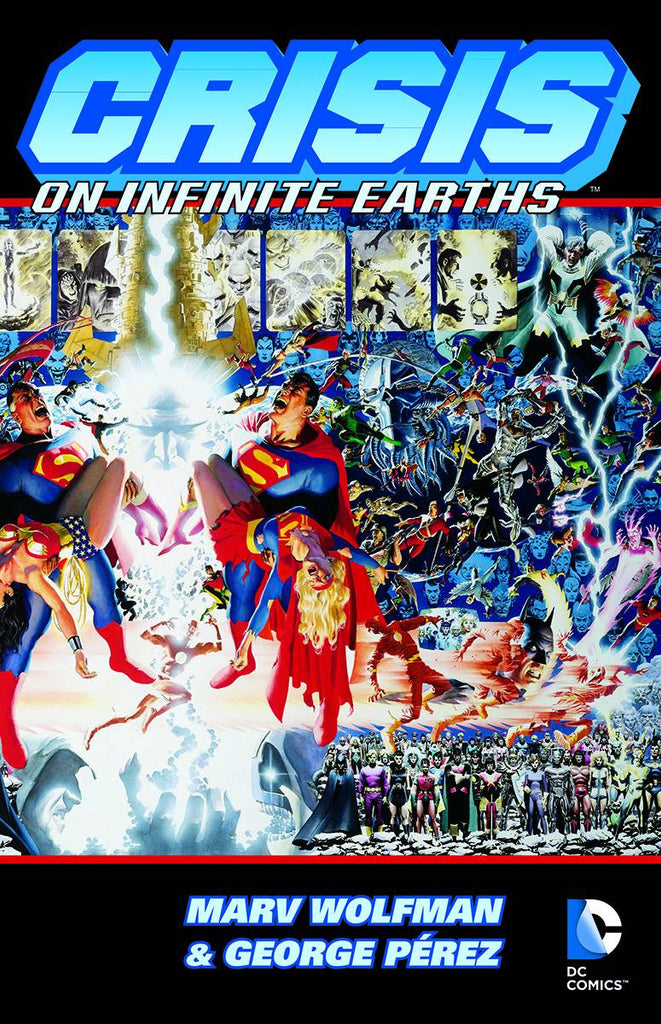 Crisis on Infinite Earths Deluxe Edition HC, signed by Marv Wolfman!