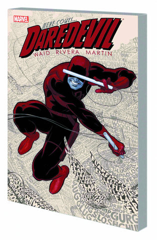 Daredevil by Waid Vol 1 TP, signed by Mark Waid!