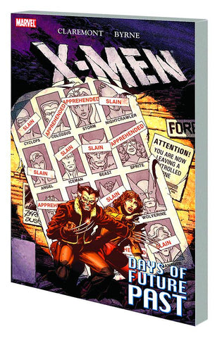 X-Men: Days of Future Past TP, signed by Chris Claremont!