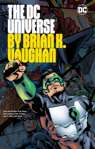 DC Universe by Brian K. Vaughan TP, Signed by Brian K. Vaughan!