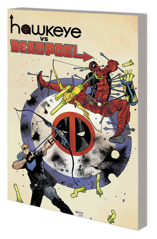 Hawkeye vs Deadpool TP, signed by Gerry Duggan!
