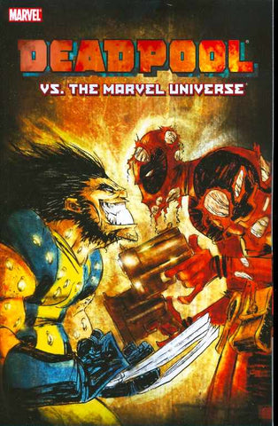 Deadpool vs. the Marvel Universe TP, signed by Reilly Brown!