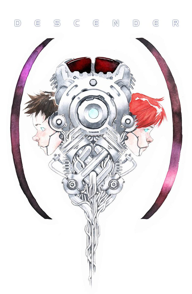 Descender Vol 1 HC, signed by Dustin Nguyen or Jeff Lemire!