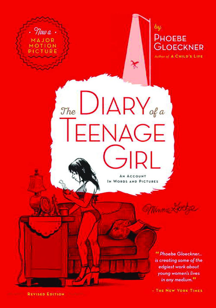 Diary of a Teenage Girl GN, signed by Phoebe Gloeckner!