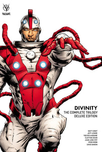 Divinity Complete Trilogy HC Exclusive Bookplate Edition, Signed & Lettered by Matt Kindt, Jeff Lemire, & Joe Harris!