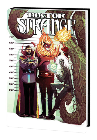 Doctor Strange HC Signed By Donny Cates