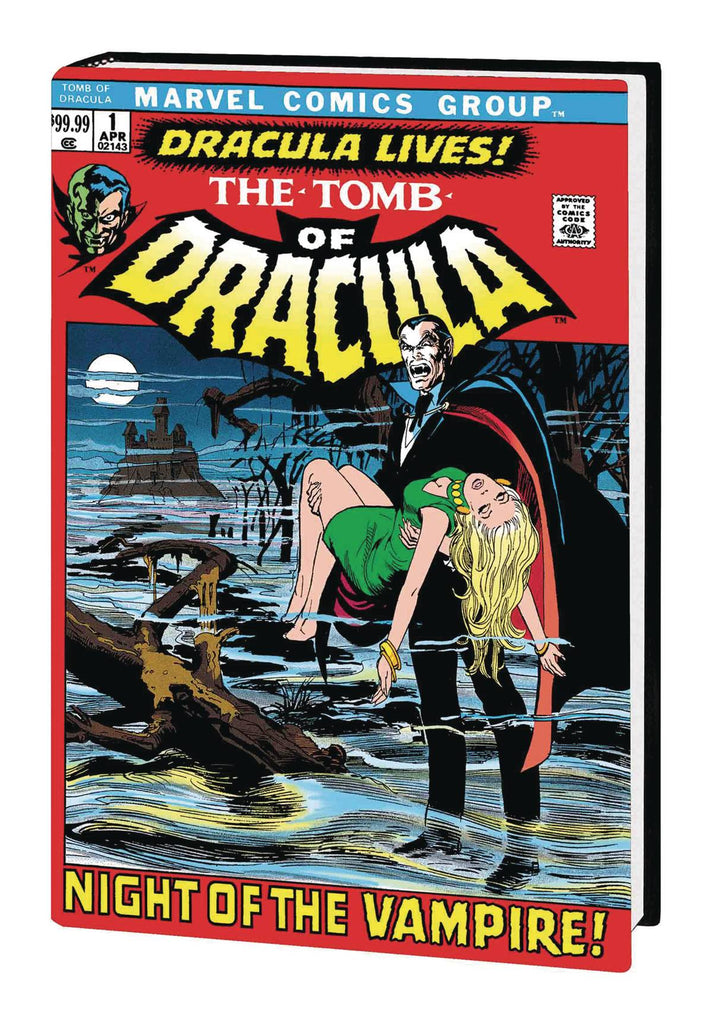 Tomb of Dracula Omnibus Volume One, signed by Marv Wolfman!