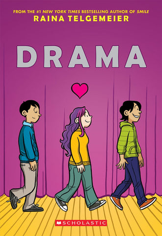 Drama SC, signed by Raina Telgemeier!