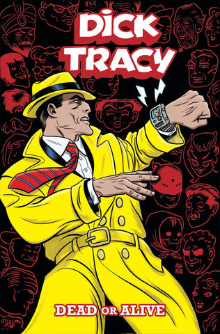 Dick Tracy: Dead or Alive TP, PERSONALIZED by Mike & Laura Allred!