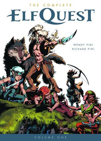 Complete Elfquest Vol 1 TP, signed by Wendy & Richard Pini!