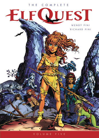 Complete Elfquest Vol 5 TP, signed by Wendy & Richard Pini!