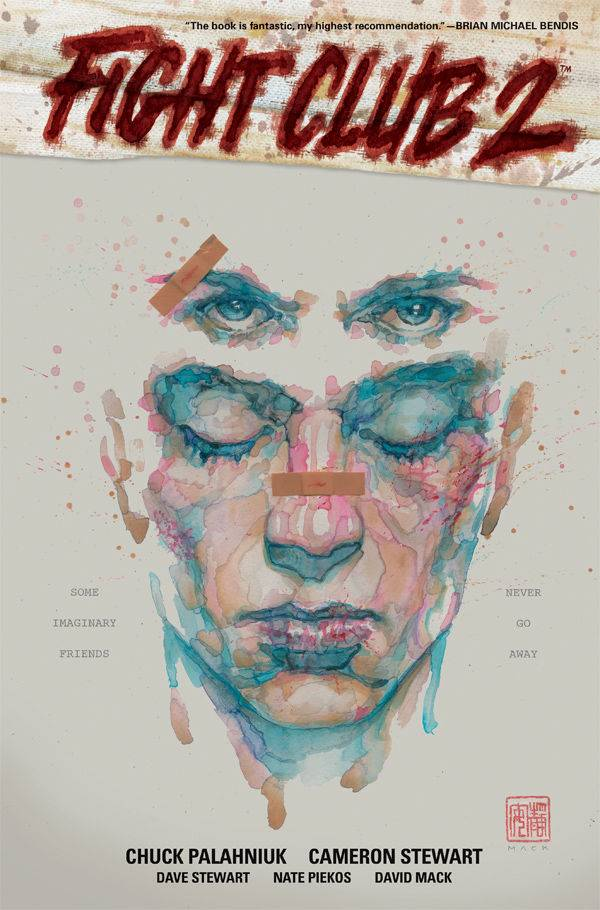 Fight Club 2 HC, signed by Chuck Palahniuk!