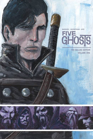 Five Ghosts Volume One HC, signed by Frank Barbiere!
