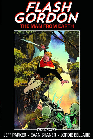 Flash Gordon: The Man from Earth TP Volume One, signed by Jeff Parker!