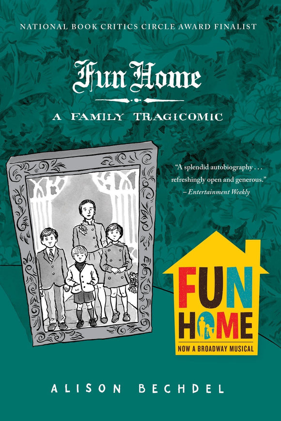 Fun Home GN, Signed and Sketched by Alison Bechdel!