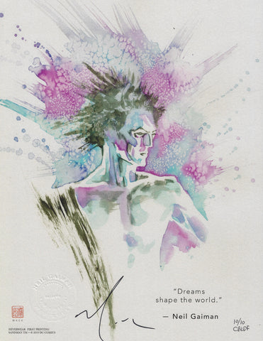 Sandman: Dream Limited Print, signed by David Mack!