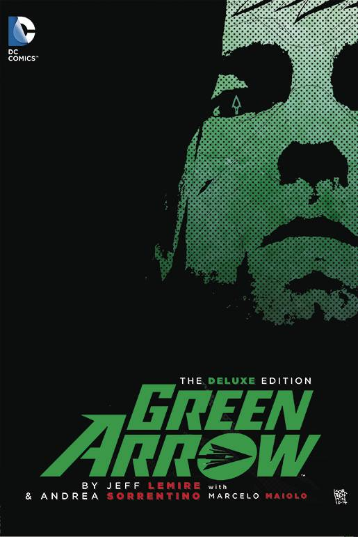 Green Arrow by Lemire Deluxe HC, signed by Jeff Lemire!