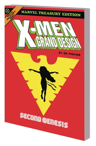 X-Men Grand Design: Second Genesis TP, Signed by Ed Piskor!
