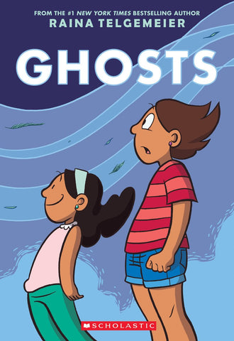 Ghosts HC, signed by Raina Telgemeier!