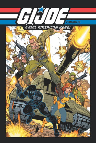 GI Joe: A Real American Hero Omnibus TP Vol 1, signed by Larry Hama!
