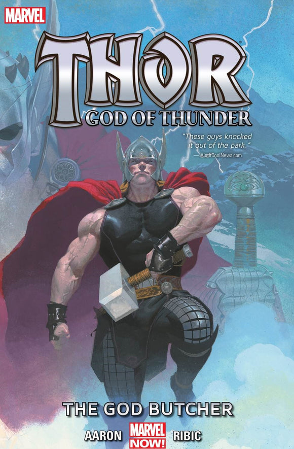 Thor: God of Thunder Vol 1 HC, Signed by Jason Aaron!