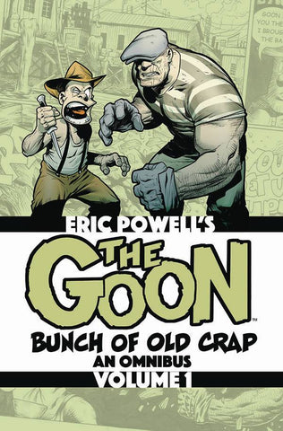 Goon: Bunch Of Old Crap Omnibus Vol 1 Signed By Eric Powell