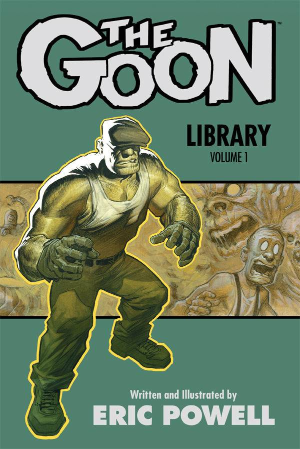The Goon Library Vol 1 HC, Signed by Eric Powell!