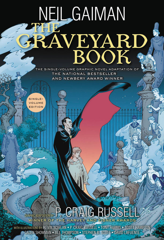Complete Graveyard Book HC, signed by Neil Gaiman!