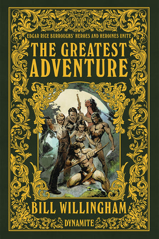 The Greatest Adventure HC, Signed by Bill Willingham!