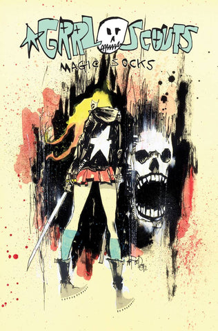 GRRL Scouts: Magic Socks TP, PERSONALIZED by Jim Mahfood!