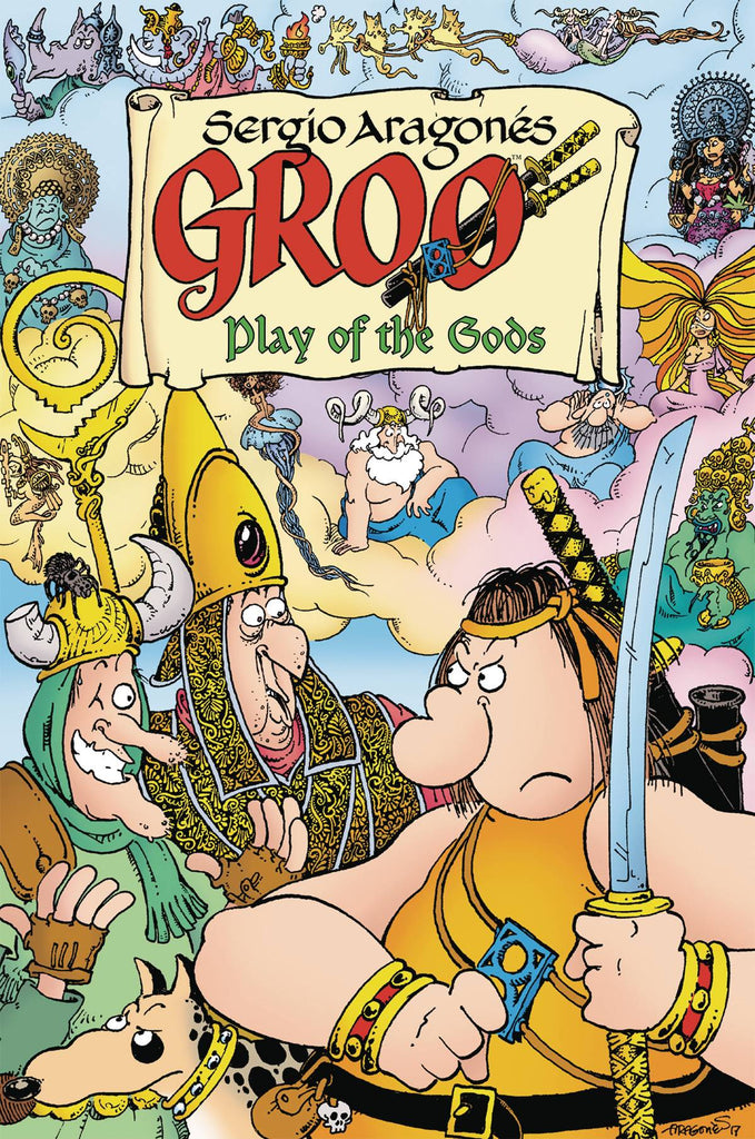 Groo: Play of the Gods TP, signed by Sergio Aragonés!