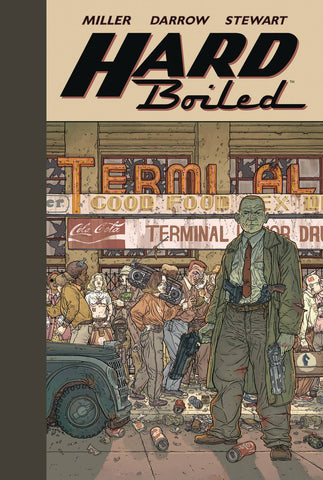 Hard Boiled HC, Signed by Geof Darrow!