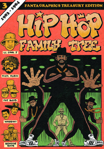 Hip Hop Family Tree Vol 3 TP, Signed & Sketched by Ed Piskor!