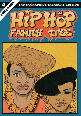 Hip Hop Family Tree Vol 4 TP, Signed & Sketched by Ed Piskor!