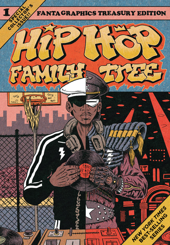 Hip Hop Family Tree Vol 1 TP, Signed & Sketched by Ed Piskor!
