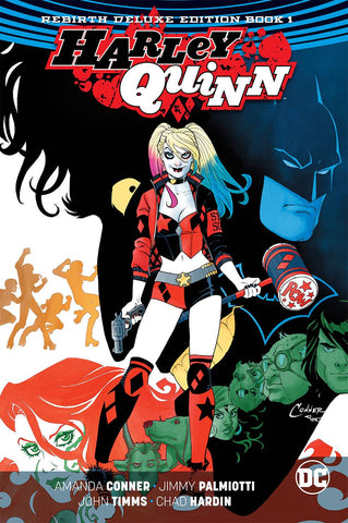 Harley Quinn: Rebirth Vol 1 HC, signed by Amanda Conner & Jimmy Palmiotti!