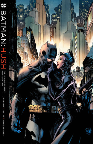 Batman: Hush 15th Anniversary Dlx Ed HC, Signed by Jim Lee!