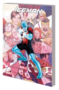 Iceman: Absolute Zero Volume Two TP, Signed by Sina Grace!