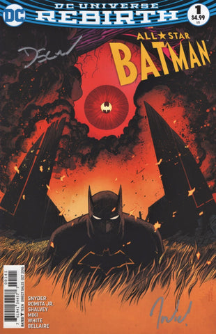 All-Star Batman #1 Variant, signed by Declan Shalvey and Jordie Bellaire!