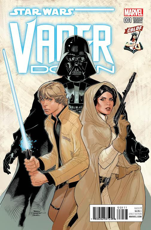 Star Wars: Vader Down #1, Signed Terry Dodson Variant!