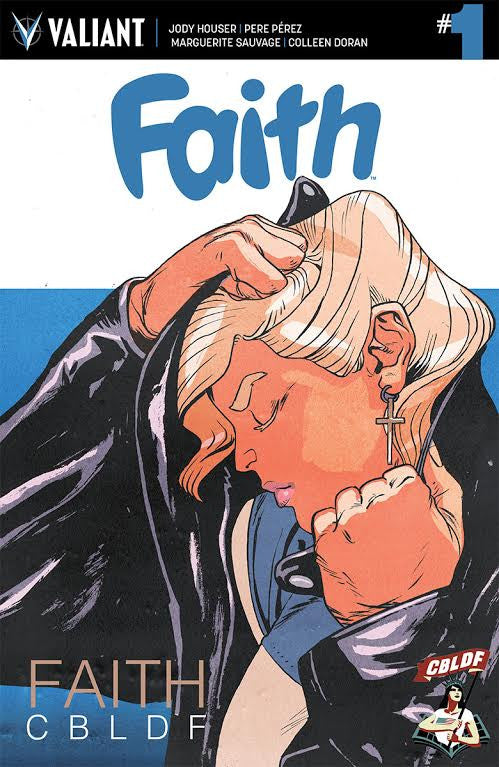 Faith #1 CBLDF Variant by Ron Wimberly!