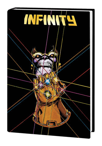 Infinity Omnibus HC, Signed By Jim Starlin !