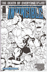 INVINCIBLE 100, Comixology variant