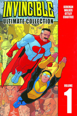 Invincible Ultimate Collection Vol 1 HC, Signed by Robert Kirkman!