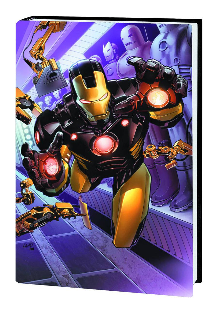 Iron Man: Believe Vol 1 HC, signed by Kieron Gillen!