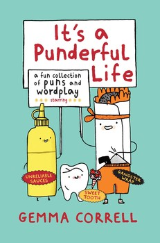 It's A Punderful Life HC, signed & sketched By Gemma Correll!
