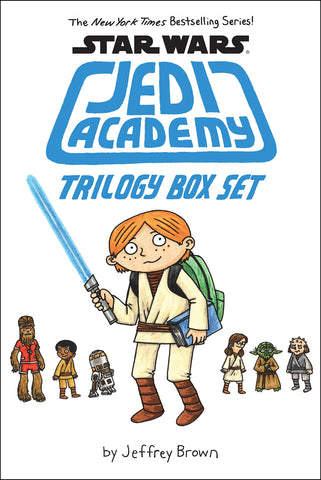 Star Wars: Jedi Academy Trilogy HC Box Set, signed by Jeffrey Brown!