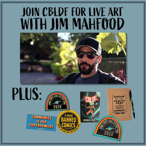 Join CBLDF for a Live Art Demo with Jim Mahfood!