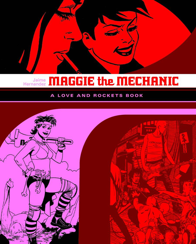 Love & Rockets Library, Jaime Vol 1: Maggie the Mechanic TP, Signed by Jaime Hernandez!