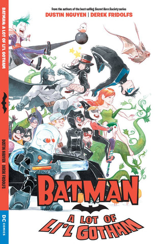 A Lot of Lil' Gotham TP, signed by Dustin Nguyen!